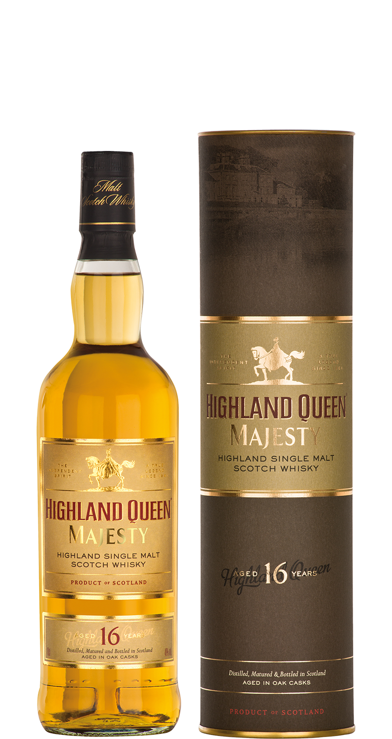 Highland Queen Majesty Single Malt Scotch Whisky